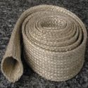 vermiculite coated fiberglass high temperature heat resistant sleeve wire cale hose protection